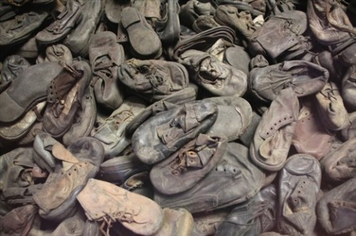 Auschwitz 1 Childrens shoes