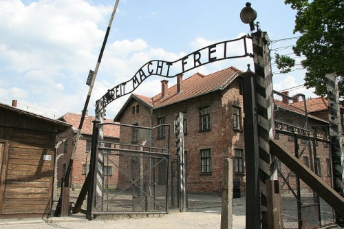 Auschwitz 1 main gate