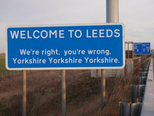 Yorkshire chauvinism
